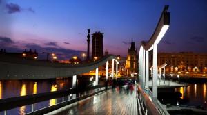 пристанище Барселона
