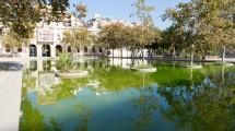 principe de girona barcelona plaza