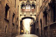 Готически квартал Барселона