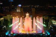 Магически фонтани Барселона