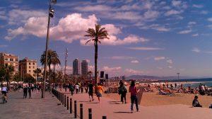 Барселона през юни